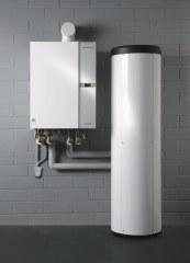 Brennwertkessel mit Warmwasserspeicher WTC-OW