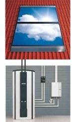 Solaranlage mit Energiespeicher